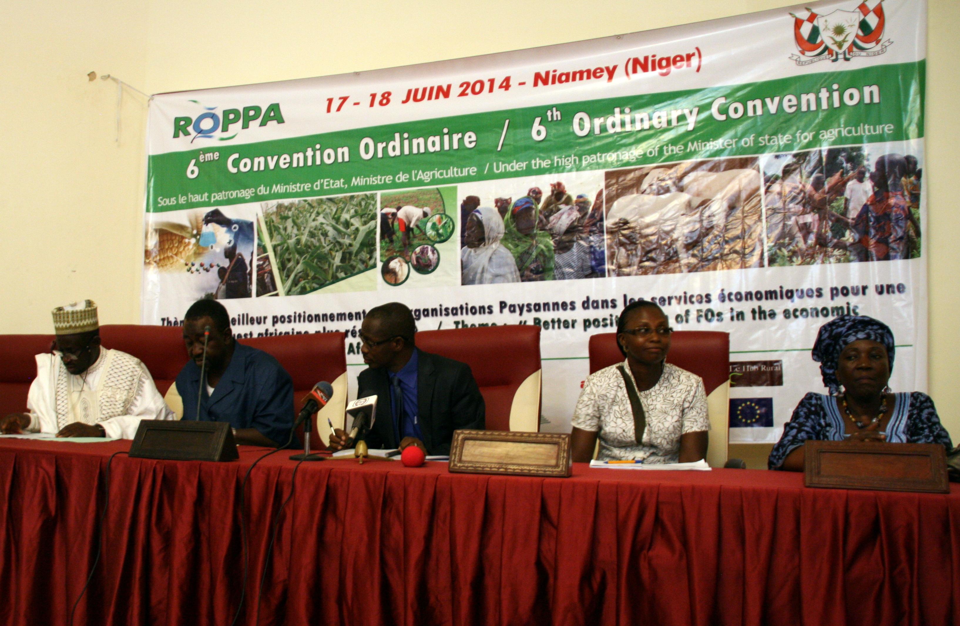 Le ROPPA, la voix commune des paysans ouest africains