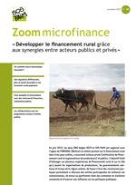 Développer le financement rural grâce aux synergies entre acteurs publics et privés