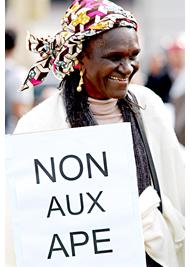 PÉTITION : soutenez les agriculteurs africains et dites « Non » aux Accords de partenariat économique