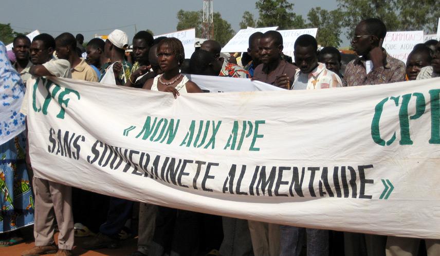 NON à l'Accord de partenariat économique UE - Afrique de l'Ouest