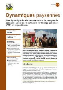 Une dynamique locale se crée autour de banques de céréales : le cas de « Facilitators for Change Ethiopia » (FCE) en région Oromo