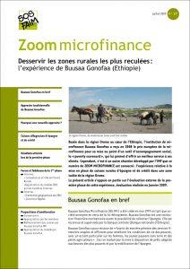 Desservir les zones rurales les plus reculées : l'expérience de Buusaa Gonofaa (Ethiopie)