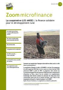 La coopérative LOS ANDES : la finance solidaire pour le développement rural