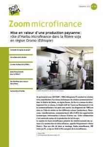 Mise en valeur d'une production paysanne : rôle d'Harbu Microfinance dans la filière soja en région Oromo (éthiopie)