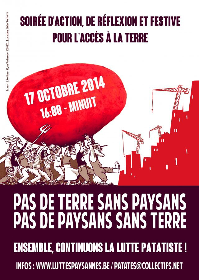 Le temps des patates - mobilisation le 17 octobre !