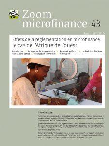 Effets de la règlementation en microfinanc...