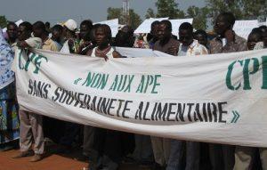 NON aux accords de partenariat économique (APE)