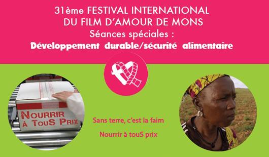 Un festival de films d'amour qui parle aussi de la sécurité alimentaire