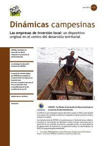 Las empresas de inversión local: un dispositivo original en el centro del desarrollo territorial