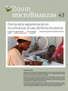 Efectos de la reglamentación en  microfinanzas : el caso del África Occidental