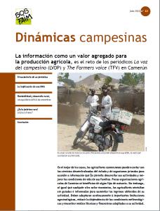 La información como un valor agregado para la producción agrícola, es el reto de los periódicos La voz del campesino (LVDP) y The Farmers voice (TFV) en Camerún