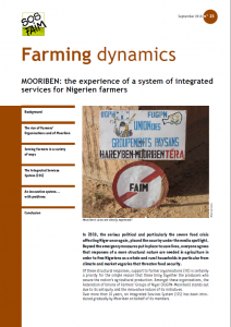 MOORIBEN: the experience of a system of integrated services for Nigerien farmers