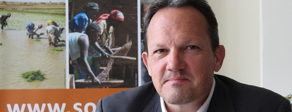 Olivier Hauglustaine, un nouvel ADN dans la famille SOS Faim
