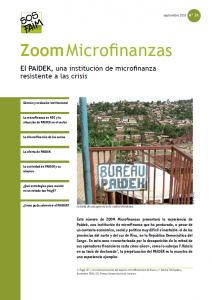 El PAIDEK, una institución de microfinanza resistente a las crisis