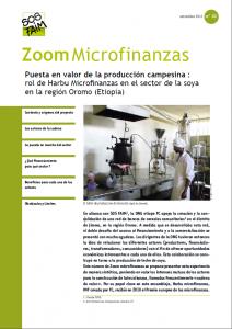 Puesta en valor de la producción campesina : rol de Harbu Microfinanzas en el sector de la soya en la región Oromo (Etiopía)