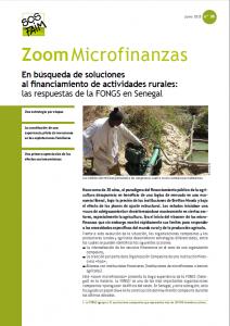 En búsqueda de soluciones al financiamiento de actividades rurales: las respuestas de la FONGS en Senegal