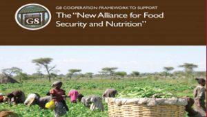 SOS FAIM firma el llamamiento de las ONG contra la Nueva Alianza del G-7 para la Seguridad Alimentaria y la Nutrición.