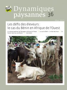 Les défis des éleveurs : le cas du Bénin e...