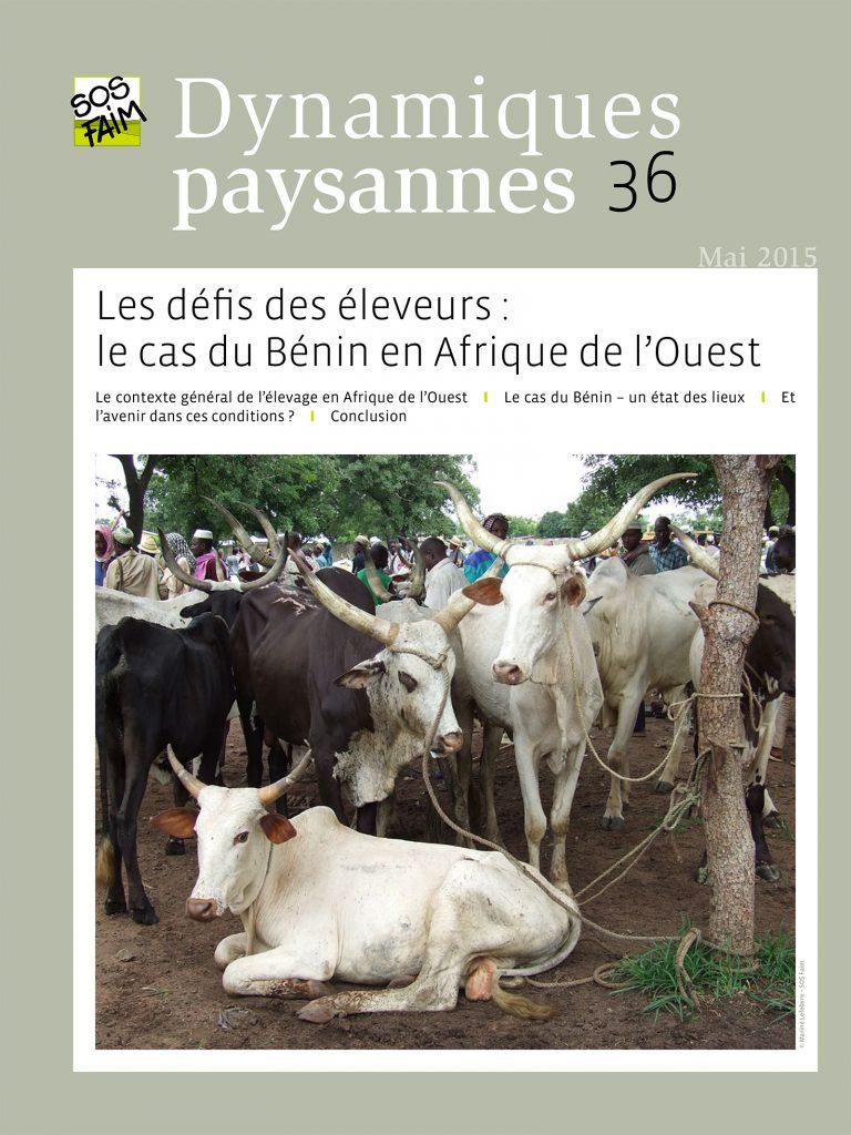Les défis des éleveurs : le cas du Béni...