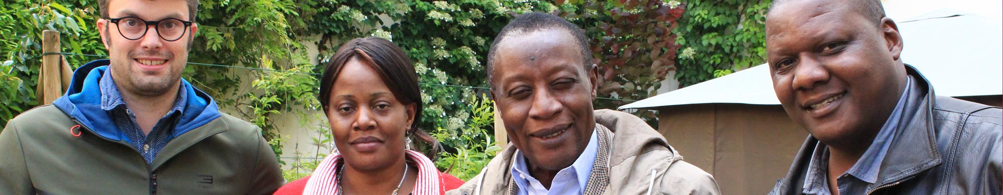 Mireille, nouvelle représentante de SOS Faim en République démocratique du Congo