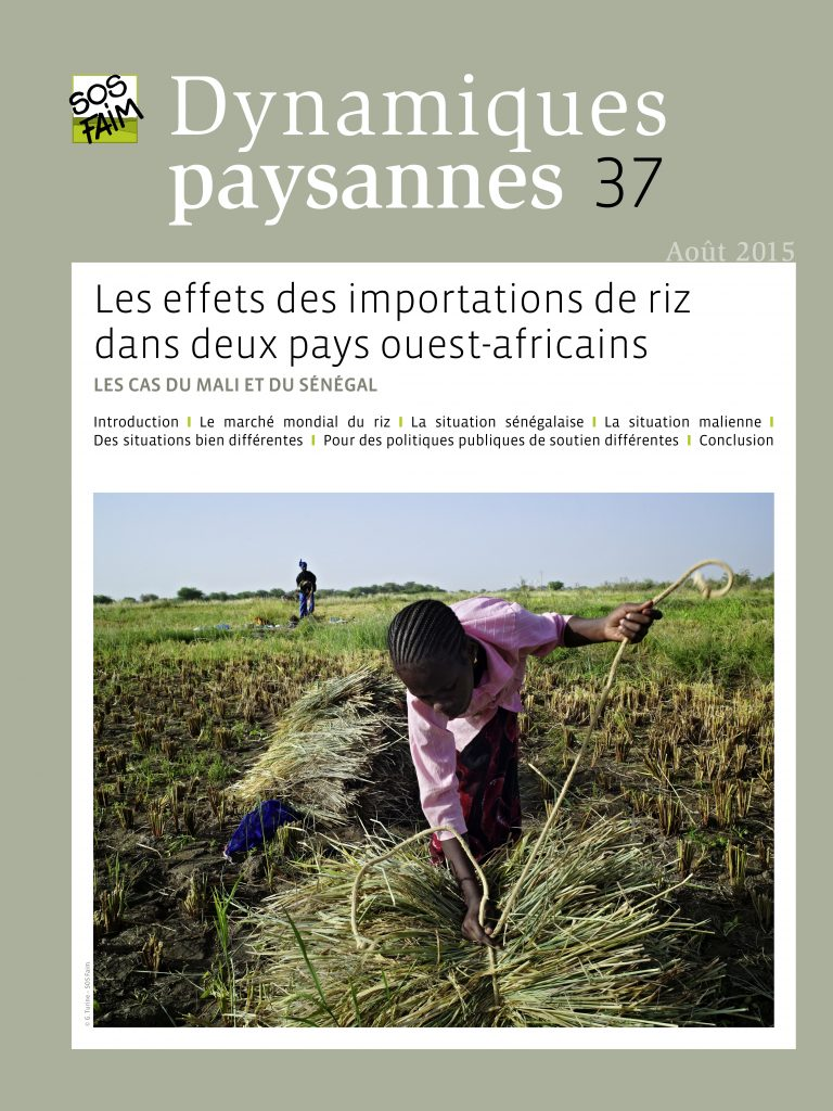Les effets des importations de riz dans...