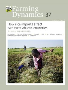 How rice import affect two West African countries?