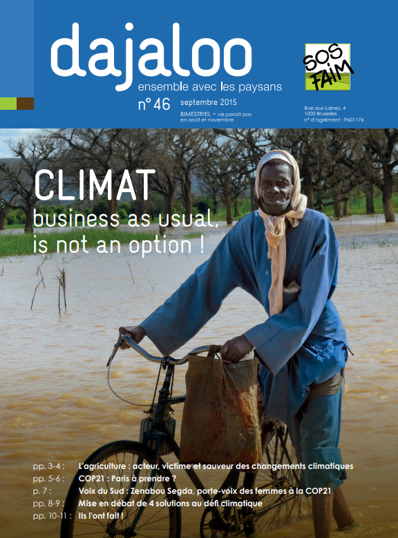 Climat : Business as usual, is not an opti...