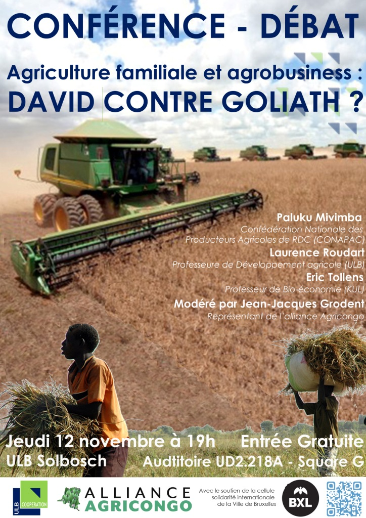 Agriculture familiale et agrobusiness : David contre Goliath?
