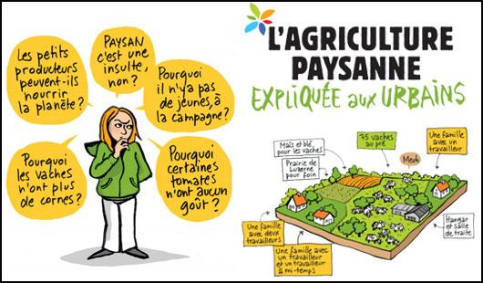 L'agriculture paysanne expliquée aux urbains, une BD à découvrir !
