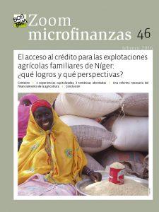 El acceso al crédito para las explotaciones agrícolas familiares de Níger: ¿qué logros y qué perspectivas?