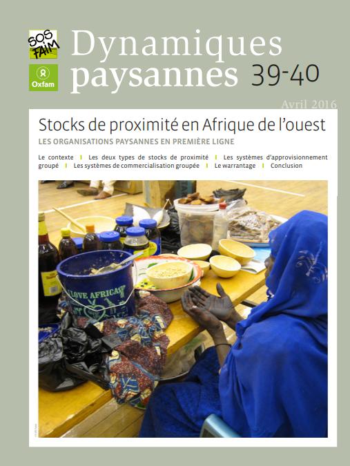 Stocks de proximité en Afrique de l'Ouest