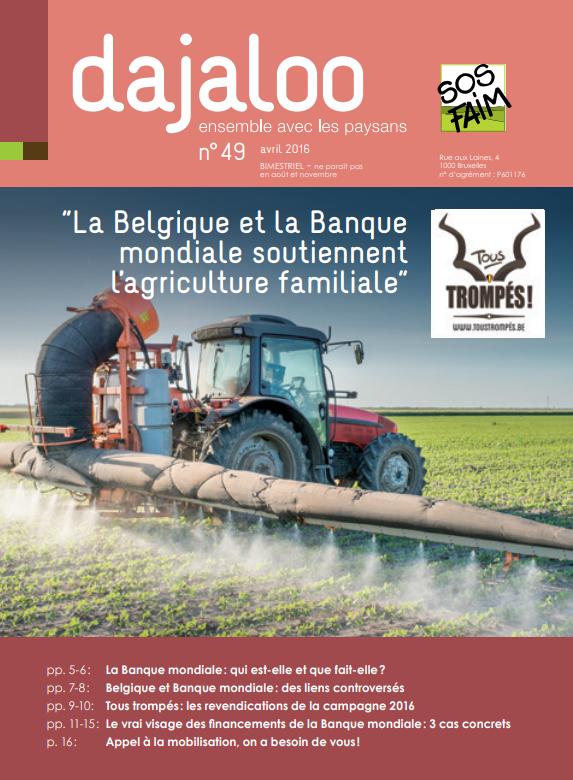 La Belgique et la Banque mondiale soutienn...
