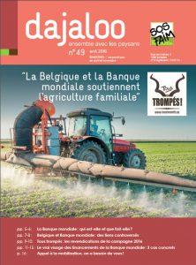 La Belgique et la Banque mondiale soutiennent-elles vraiment l'agriculture familiale ?
