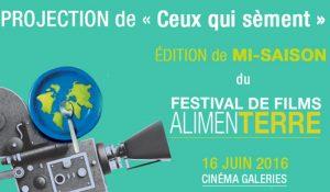 Le Festival AlimenTerre vous invite à sa projection de mi-saison