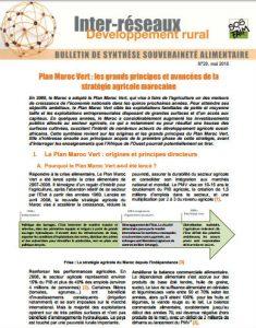 Plan Maroc Vert : les grands principes et avancées de la stratégie agricole marocaine