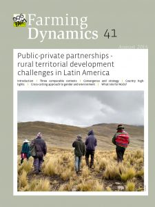 Public-private partnerships – rural territorial development challenges in Latin America