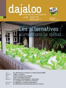 Les alternatives : alimentons le débat