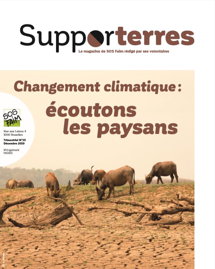 Changement climatique : écoutons les paysans