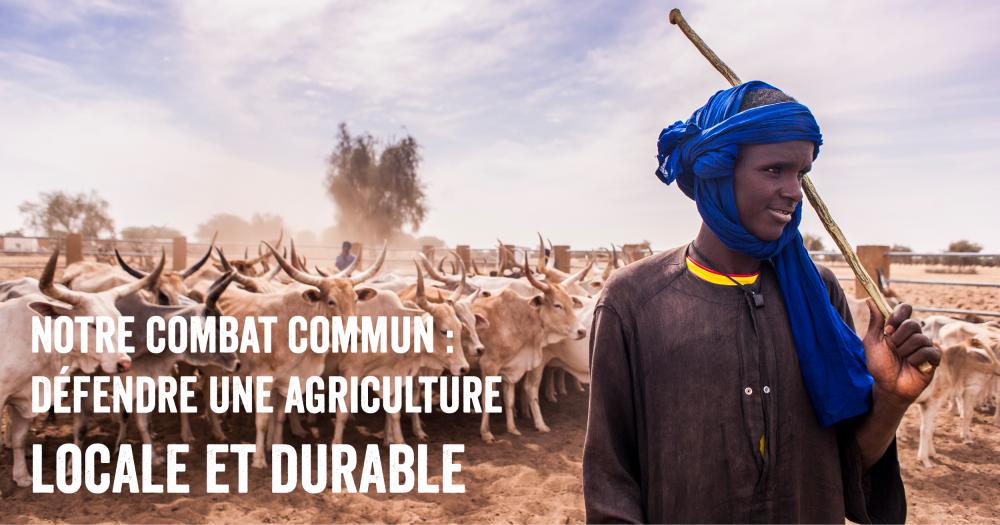 Ensemble, changeons de modèle agricole!
