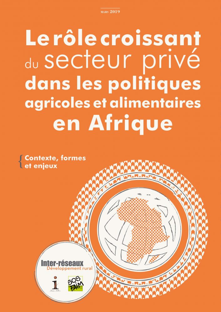Le rôle croissant du secteur privé dans les politiques agricoles et alimentaires en Afrique