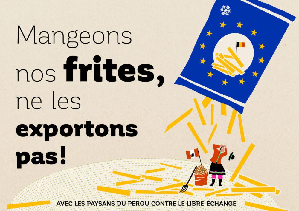 Mangeons nos frites, ne les exportons pas!